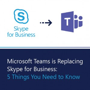Microsoft Teams is Replacing Skype for Business: 5 Things to