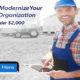 Modern Farmer and his modern business